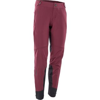 ION Softshell Pants Shelter Wms, red haze - Radhose