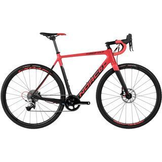 Norco Threshold C Rival 1 2017, red/carbon - Crossrad