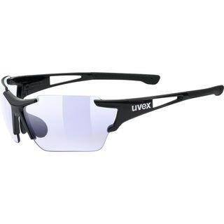 uvex sportstyle 803 race vm, black/Lens: variomatic litemirror blue - Sportbrille