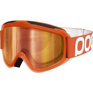 POC Iris Flow, orange/clear-red mirror - MX Brille