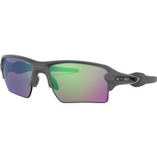 Oakley Flak 2.0 XL Prizm Road, steel/Lens: jade - Sportbrille