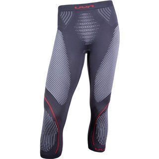 UYN Evolutyon Pant, charcoal/white/red - Unterhose