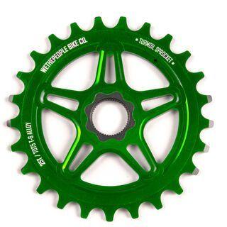 WeThePeople Turmoil Spline Drive, green - Kettenblatt