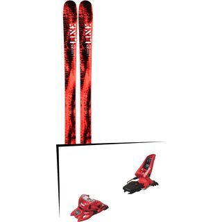 Set: Line Honey Badger 2019 + Marker Squire 11 ID red