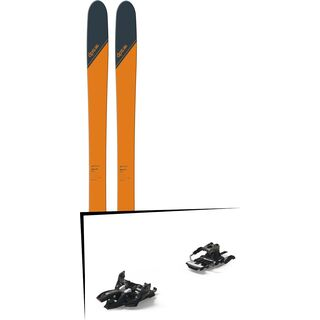 Set: DPS Skis Wailer 99 Tour1 2018 + Marker Alpinist 12 Long Travel black/titanium