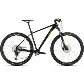 Cube Reaction Pro 29 2020, black´n´flashyellow - Mountainbike