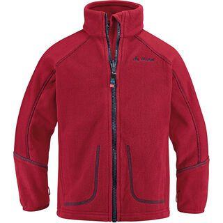 Vaude Kids Kinderhaus Jacket V, red - Fleecejacke