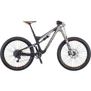 Scott Genius LT 710 Plus 2016, grey/black/orange - Mountainbike