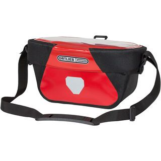 Ortlieb Ultimate Six Classic 5 L - inkl. Halterung, red-black - Lenkertasche