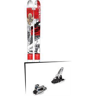 K2 SKI Set: Coomback 104 2016 + Marker Griffon 13