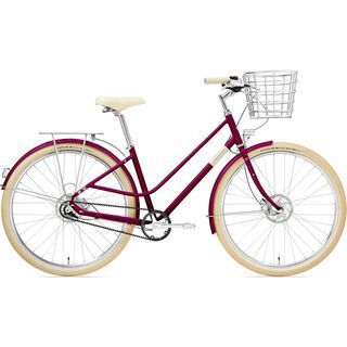 Creme Cycles Eve 8 2019, burgundy - Cityrad
