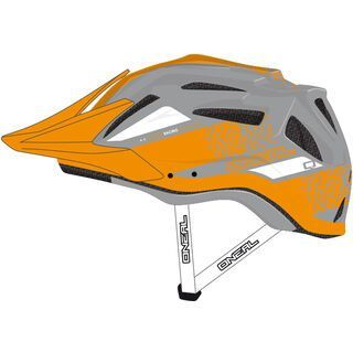 ONeal Q Fidlock Helmet, red/grey - Fahrradhelm