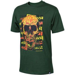 Platzangst Psych, green - T-Shirt