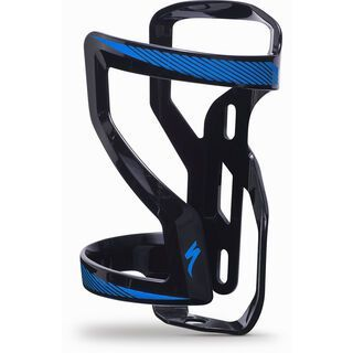 Specialized Zee Cage II - Left, black/neon blue - Flaschenhalter