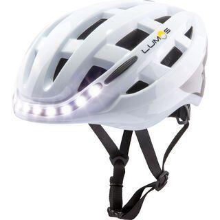 Lumos Kickstart Lite Helmet, polar white - Fahrradhelm