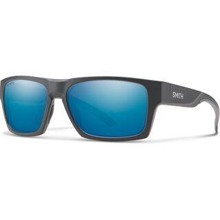 Smith Outlier 2, mat charcoal/Lens: cp polarized blue mir - Sonnenbrille