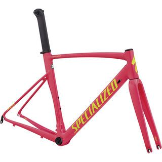 Specialized Allez Sprint DSW Frameset - Limited Edition I 2018, acid pink/team yellow