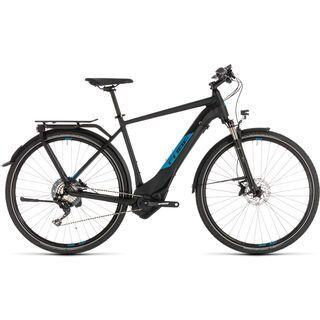 Cube Kathmandu Hybrid EXC 500 2019, black´n´blue - E-Bike