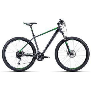 Cube Analog 27.5 2015, grey/black/green - Mountainbike