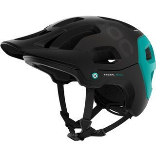 POC Tectal Race, black/beryl green - Fahrradhelm
