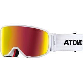 Atomic Revent L FDL, white/Lens: red flash - Skibrille