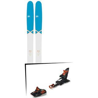 Set: DPS Skis Wailer 112 2016 + Marker Kingpin 13 (2319336)
