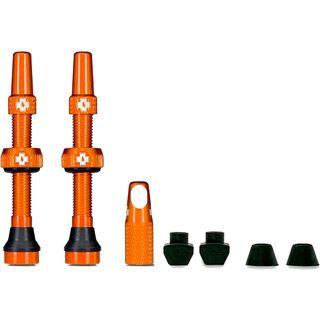 Muc-Off Tubeless Presta Valve - 60 mm orange