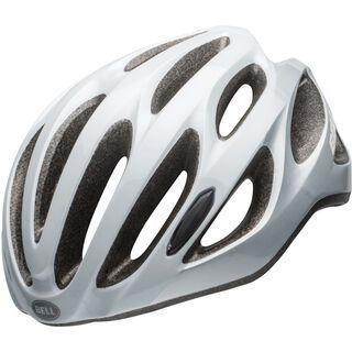 Bell Draft, white/silver - Fahrradhelm