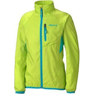 Marmot Girls Trail Wind Jacket, Green Lime - Jacke
