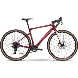 BMC URS Four 2020, cherry red - Gravelbike