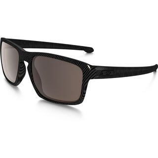 Oakley Sliver Fingerprint, dark grey/Lens: warm grey - Sonnenbrille