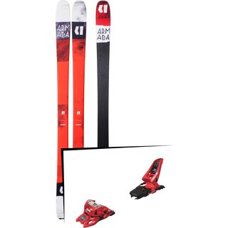 Set: Armada Tracer 88 2018 + Marker Squire 11 ID red