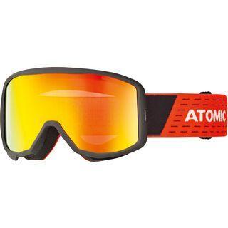 Atomic Count JR Cylindrical, black/red/Lens: red flash - Skibrille
