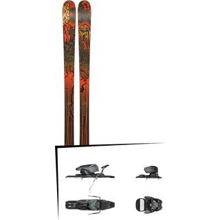Set: K2 SKI Sight 2019 + Salomon Warden 11 dark grey/black