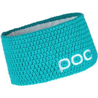 POC Crochet Headband, Platinum Turquoise - Stirnband
