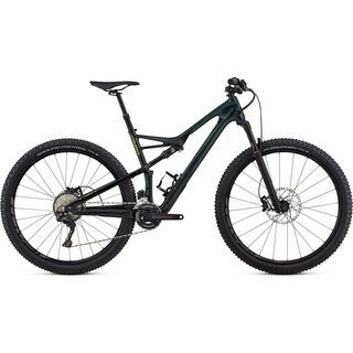 Specialized Camber Comp Carbon 29 2x 2018, green - Mountainbike