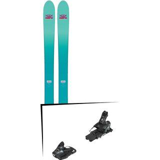 Set: DPS Skis Nina F99 Foundation 2018 + Salomon STH2 WTR 13 black/dark grey
