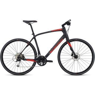 Specialized Sirrus Sport Carbon 2017, carbon/red/charcoal - Fitnessbike