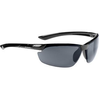 Alpina Draff, black/Lens: black mirror - Sportbrille