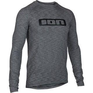ION Base_Tee LS Stratify, dark grey melange - Unterhemd