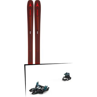 Set: Atomic Vantage 97 TI 2019 + Marker Alpinist 9 black/turquoise