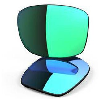 Oakley Jupiter Squared Lens, Jade Iridium - Wechselgläser