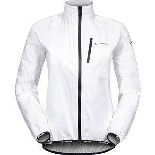 Vaude Women's Drop Jacket III, white - Radjacke