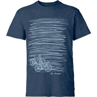 Vaude Mens Cyclist T-Shirt II, fjord blue - Radtrikot
