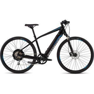 Specialized Turbo X CE 2016, black/cyan - E-Bike