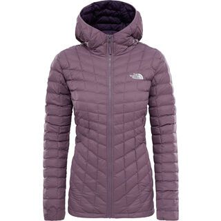 The North Face Womens Thermoball Hoodie Jacket, black plum - Thermojacke