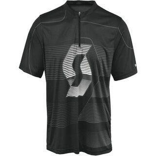 Scott Shirt Path ICN s/sl, black - Radtrikot