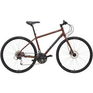 Kona Dew Plus 2014, matt root beer/black - Urbanbike