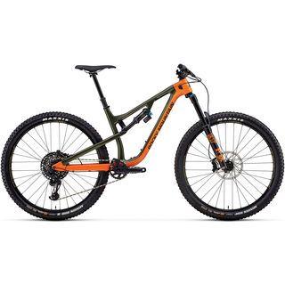 Rocky Mountain Instinct Carbon 90 BC Edition 2018, orange/green/black - Mountainbike