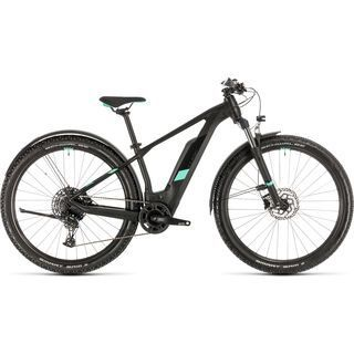 Cube Access Hybrid Pro Allroad 27.5 2020, black´n´mint - E-Bike